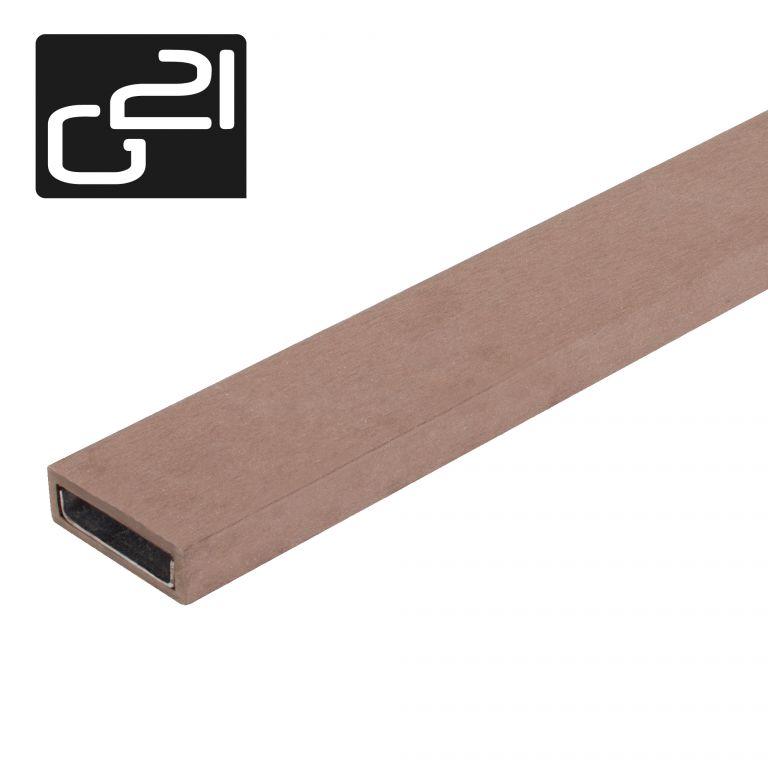 Nosník planěk G21 3 m ořech mat. WPC