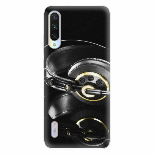 Silikonové pouzdro iSaprio - Headphones 02 - Xiaomi Mi A3
