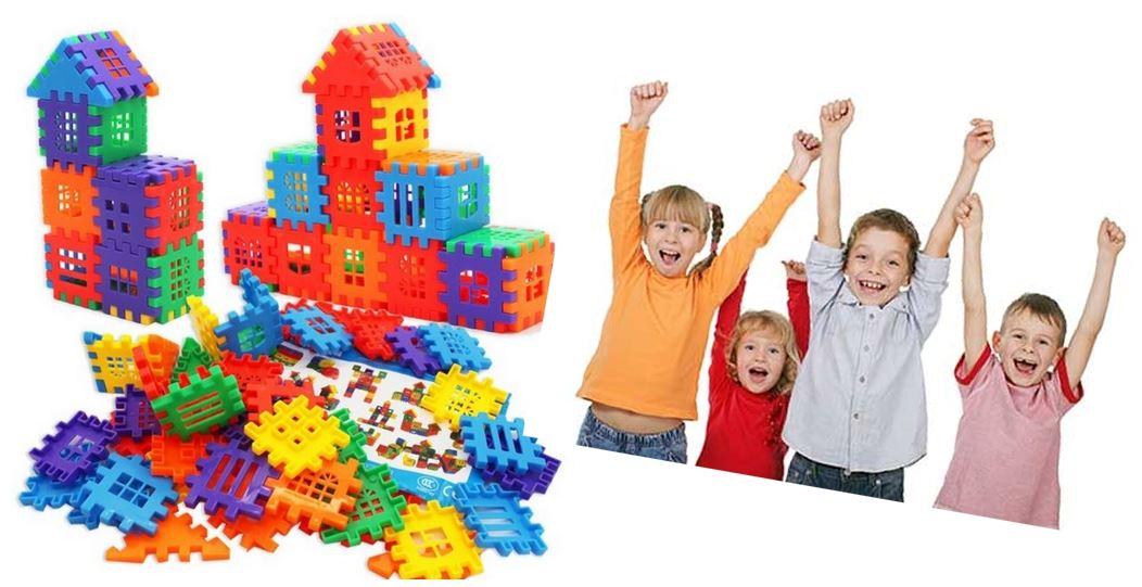 Domečková stavebnice 100 ks