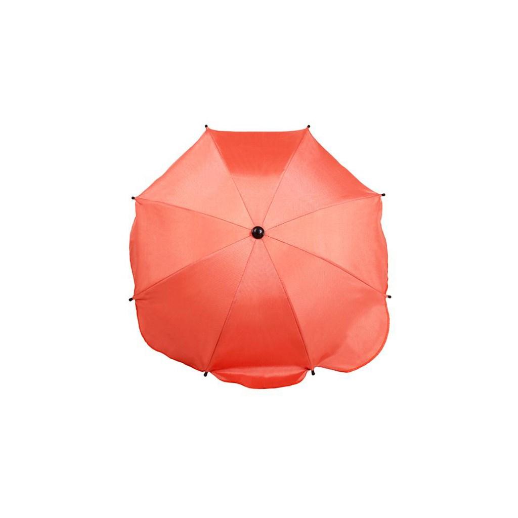 Slunečník na kočárek - oranžový - dle obrázku