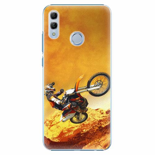 Plastový kryt iSaprio - Motocross - Huawei Honor 10 Lite