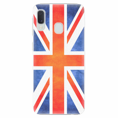 Plastový kryt iSaprio - UK Flag - Samsung Galaxy A20e