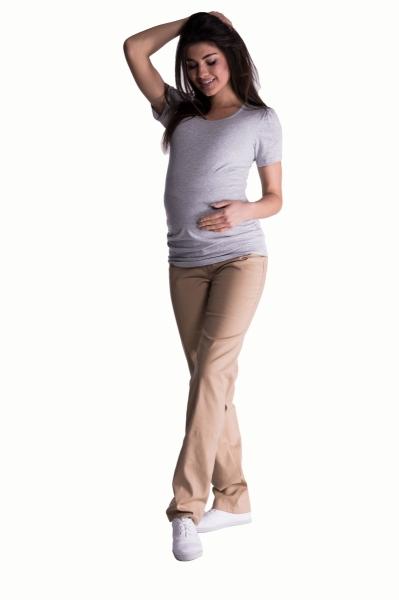 be-maamaa-bavlnene-tehotenske-kalhoty-s-regulovatelnym-pasem-bezove-vel-m-m-38