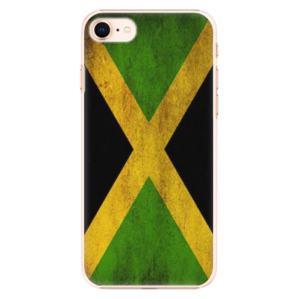 Plastové pouzdro iSaprio - Flag of Jamaica - iPhone 8