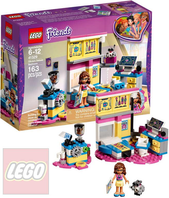 LEGO FRIENDS Olivia a její luxusní ložnice STAVEBNICE 41329