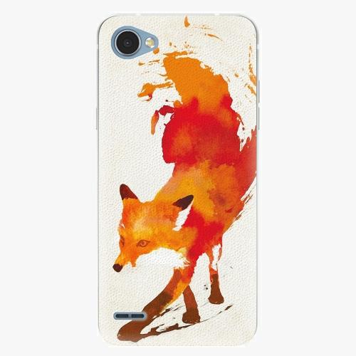 Plastový kryt iSaprio - Fast Fox - LG Q6