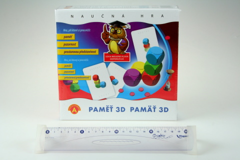 Hra Paměť 3D