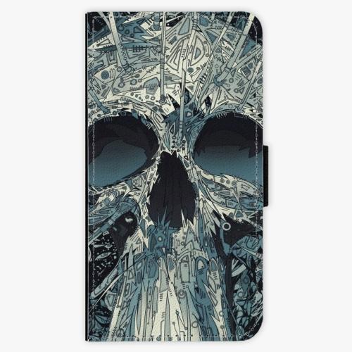 Flipové pouzdro iSaprio - Abstract Skull - Samsung Galaxy J7 2016