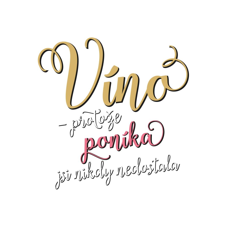 Sklenice na víno - Poník