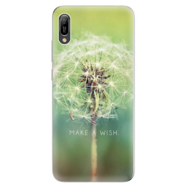 Odolné silikonové pouzdro iSaprio - Wish - Huawei Y6 2019