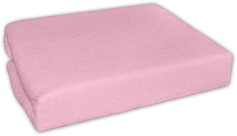 Jersey prostěradlo růžové 120x60