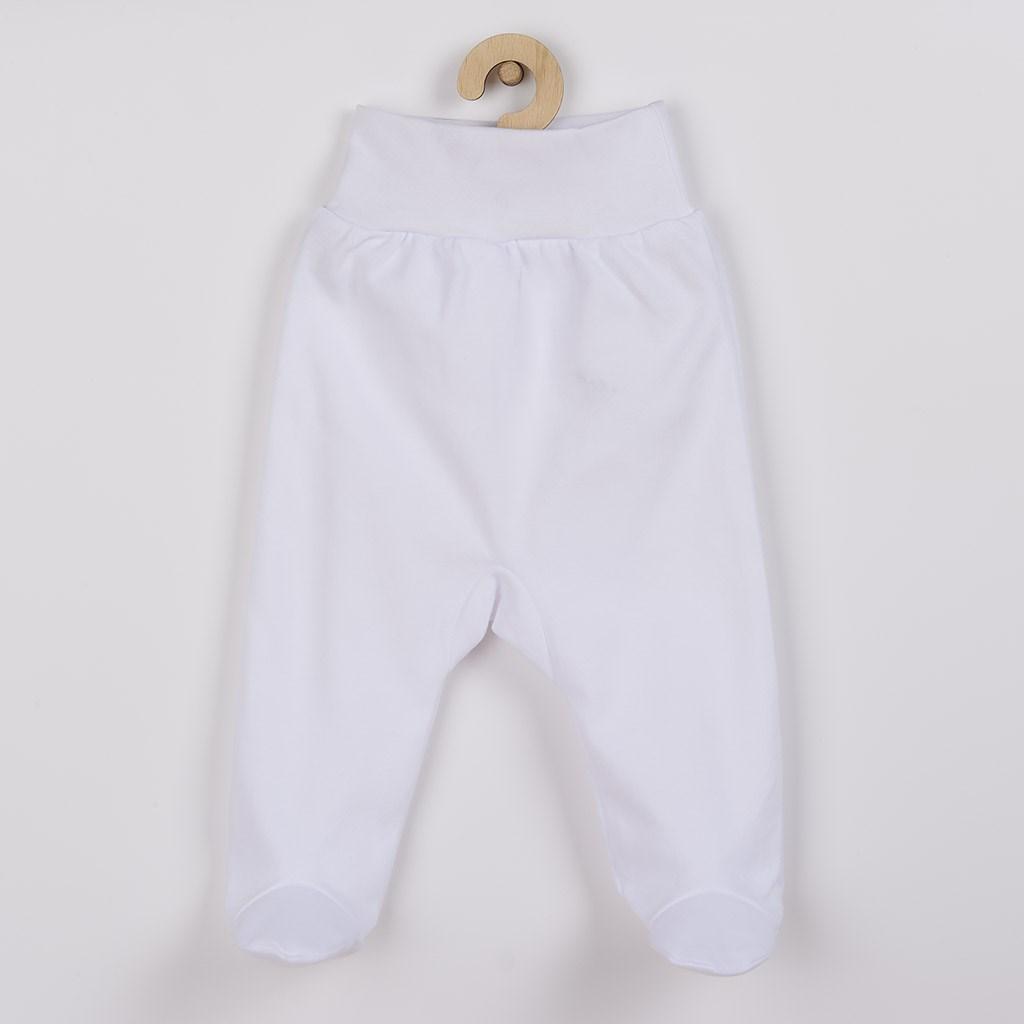 Kojenecké polodupačky New Baby - bílá/80 (9-12m)