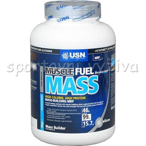 Muscle Fuel Mass - 2000g-vanilka