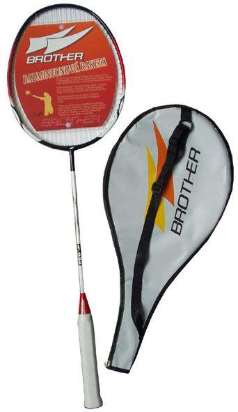 Badmintonová pálka (raketa) 100% grafit