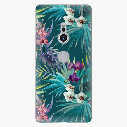 Plastový kryt iSaprio - Tropical Blue 01 - Sony Xperia XZ2