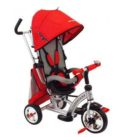 baby-mix-detska-trikolka-turbo-trike-360-cervena