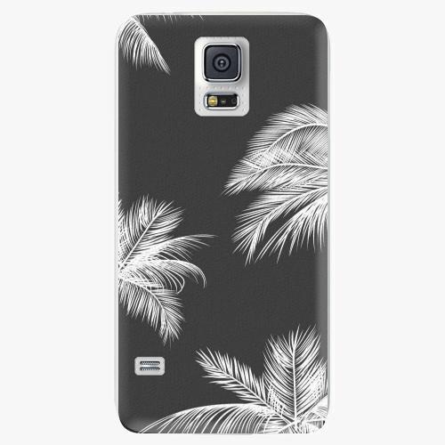 Plastový kryt iSaprio - White Palm - Samsung Galaxy S5