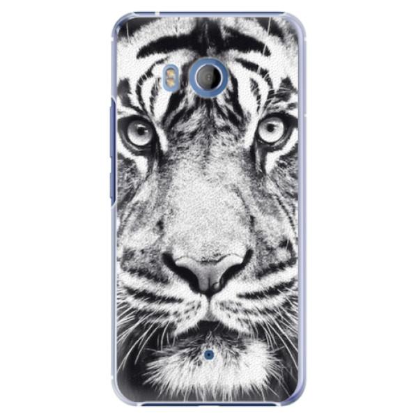 Plastové pouzdro iSaprio - Tiger Face - HTC U11