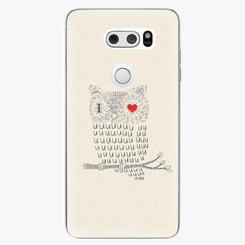 Plastový kryt iSaprio - I Love You 01 - LG V30