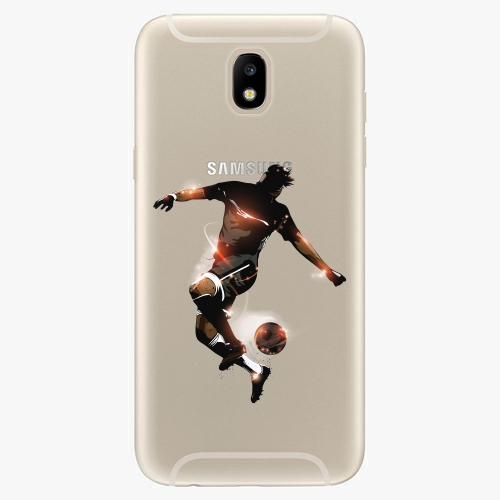 Silikonové pouzdro iSaprio - Fotball 01 - Samsung Galaxy J5 2017