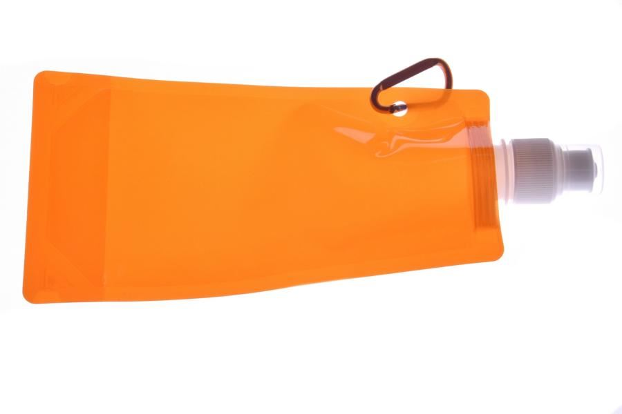 Skládací láhev - oranžová
