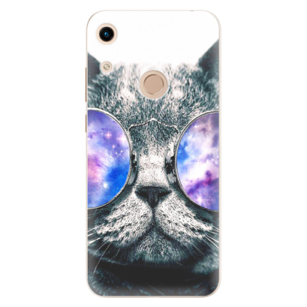 Odolné silikonové pouzdro iSaprio - Galaxy Cat - Huawei Honor 8A