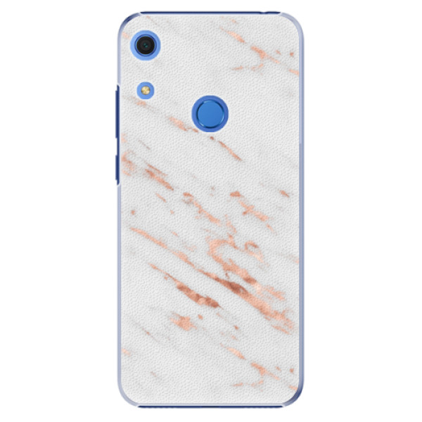 Plastové pouzdro iSaprio - Rose Gold Marble - Huawei Y6s