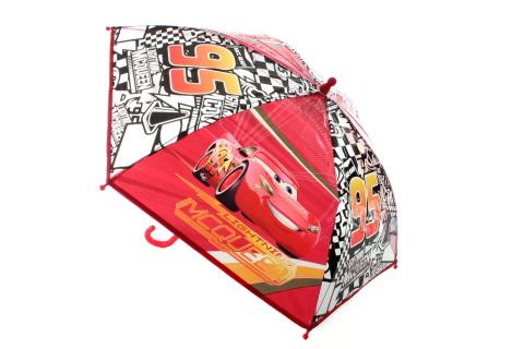 Deštník Cars průhledný manuál