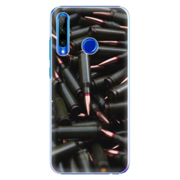 Plastové pouzdro iSaprio - Black Bullet - Huawei Honor 20 Lite