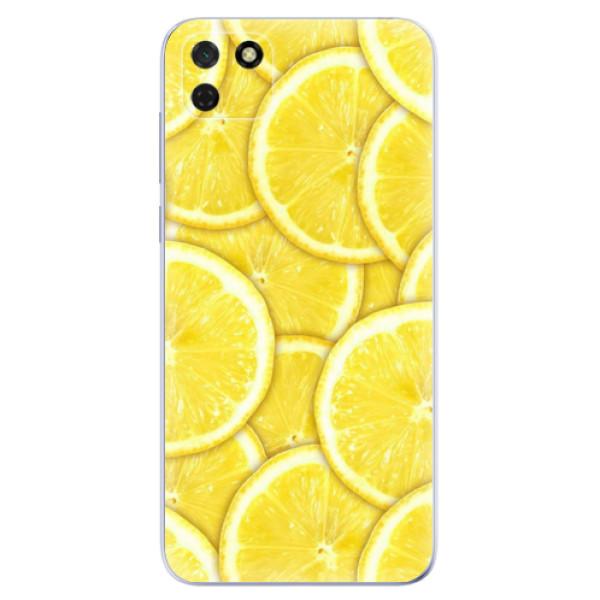 Odolné silikonové pouzdro iSaprio - Yellow - Huawei Y5p