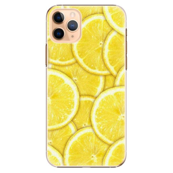 Plastové pouzdro iSaprio - Yellow - iPhone 11 Pro Max