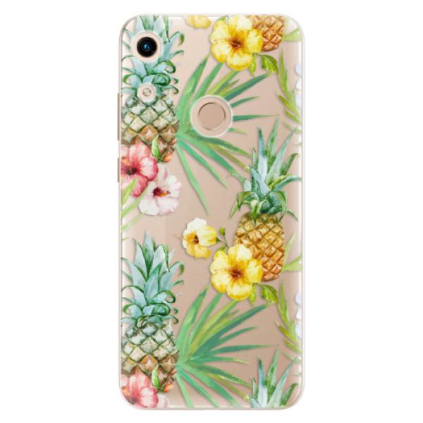 Odolné silikonové pouzdro iSaprio - Pineapple Pattern 02 - Huawei Honor 8A