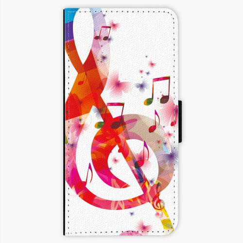 Flipové pouzdro iSaprio - Love Music - Sony Xperia XA