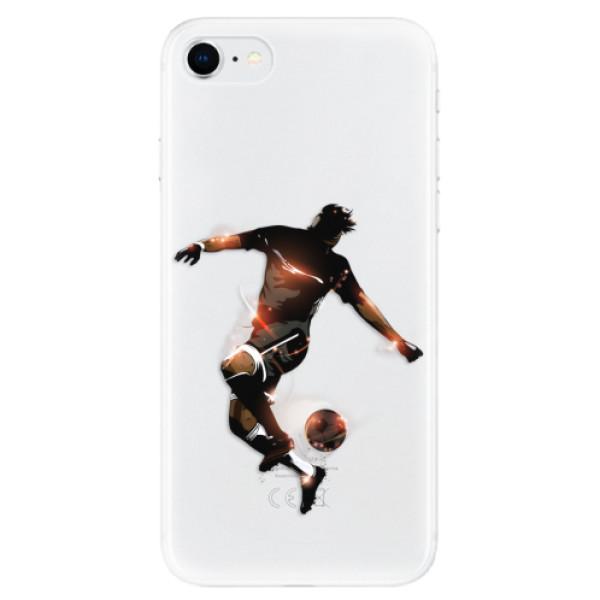 Odolné silikonové pouzdro iSaprio - Fotball 01 - iPhone SE 2020