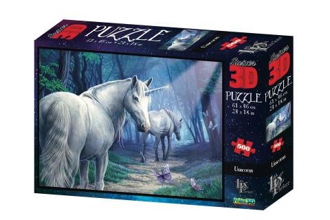 3D Puzzle Jednorožec 500 dílků