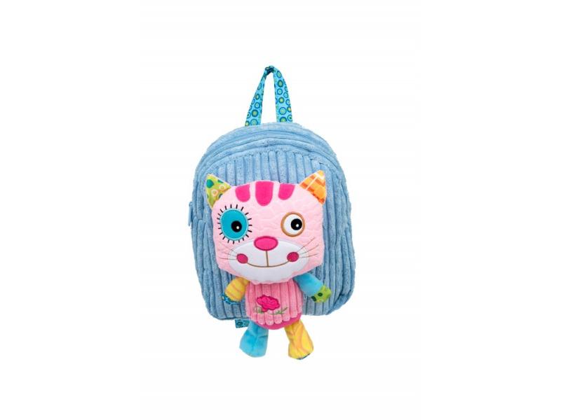 Discovery baby - Batůžek do školy s hračkou Kocour
