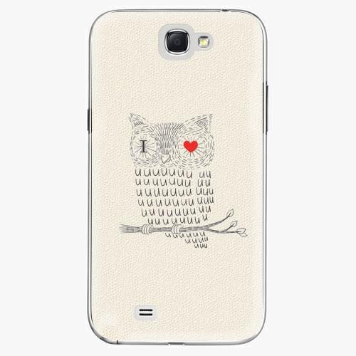 Plastový kryt iSaprio - I Love You 01 - Samsung Galaxy Note 2