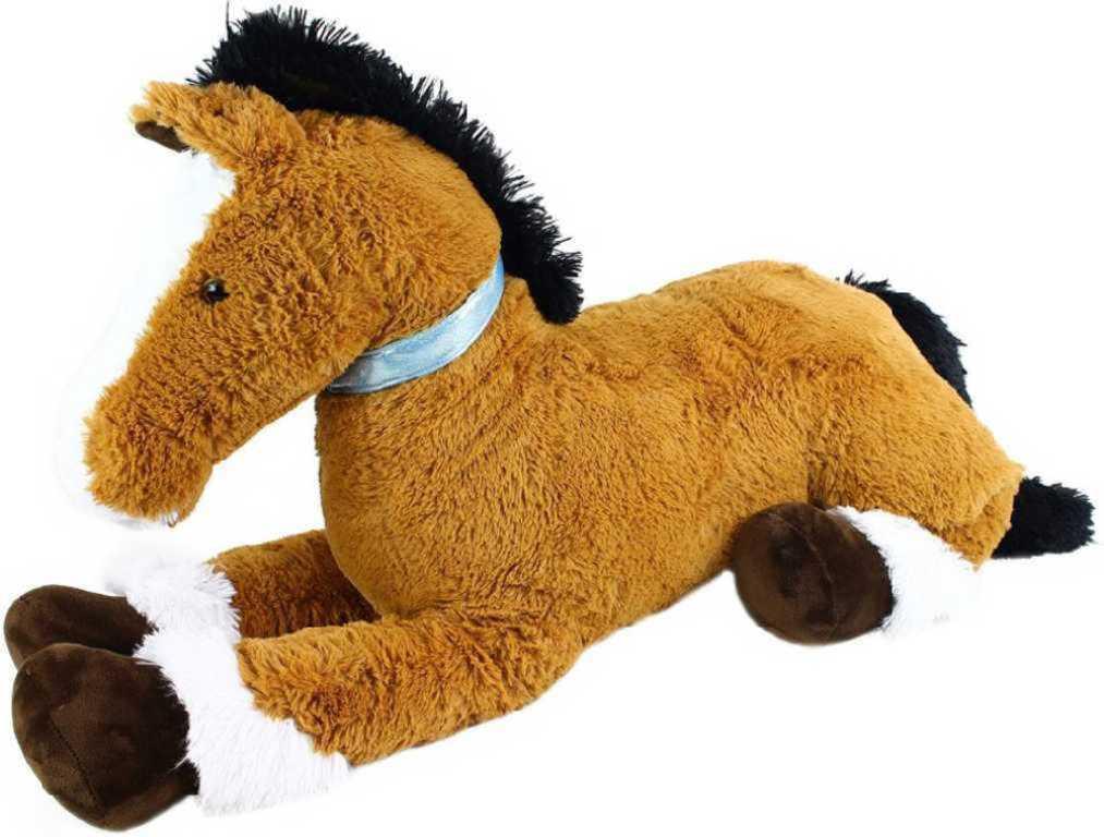 PLYŠ Kůň Toník velký 120cm *PLYŠOVÉ HRAČKY*