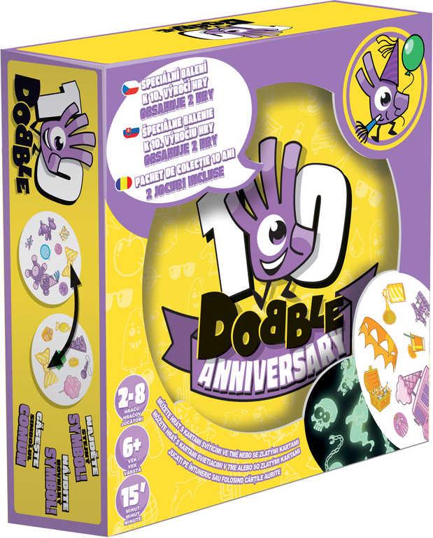 ADC Hra Dobble Anniversary Výroční edice plechová krabička *SPOLEČENSKÉ HRY*