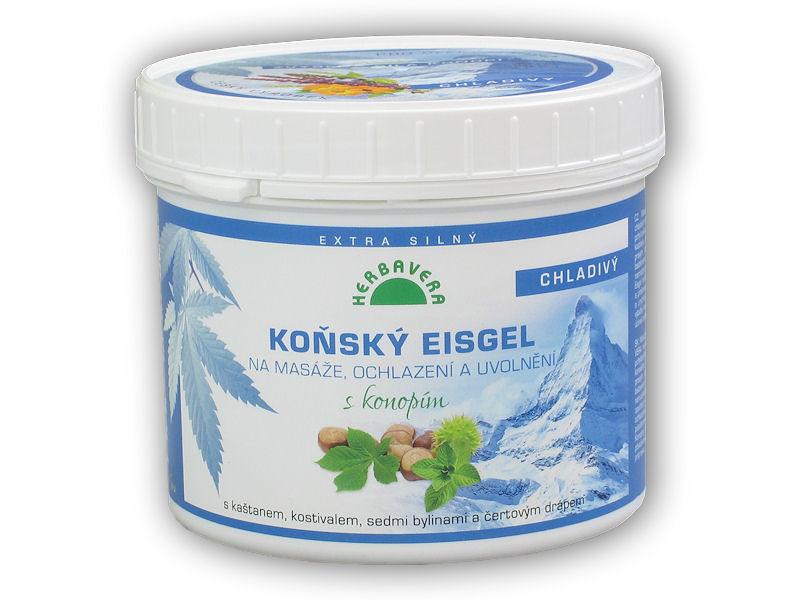Koňský Eisgel s konopím chladivý 500ml