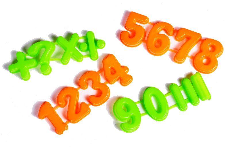 Formičky do písku - číslice