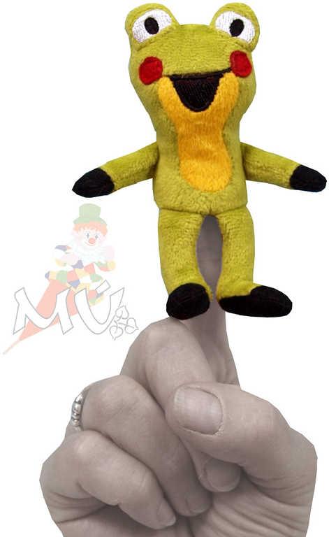 MORAVSKÁ ÚSTŘEDNA Maňásek prstový Žabka 11 cm