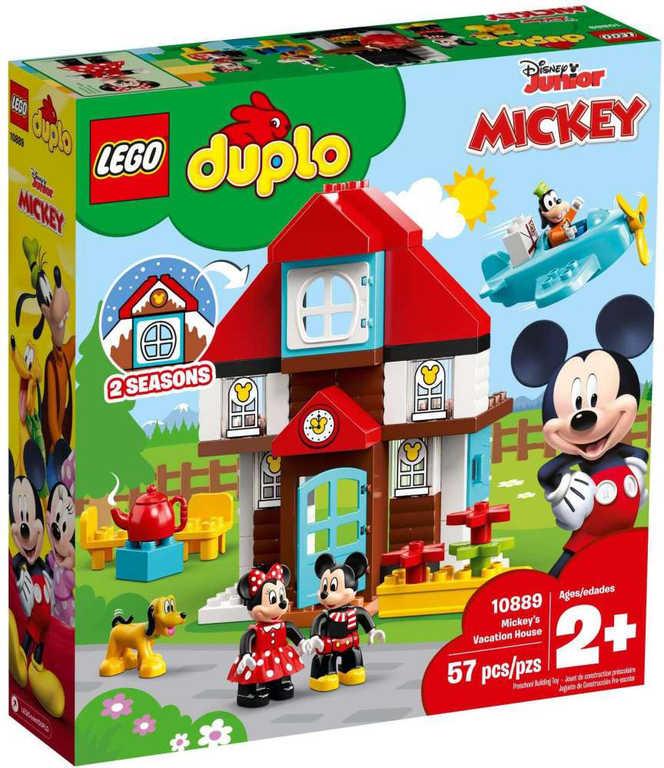 LEGO DUPLO Mickeyho prázdninový dům 10889 STAVEBNICE