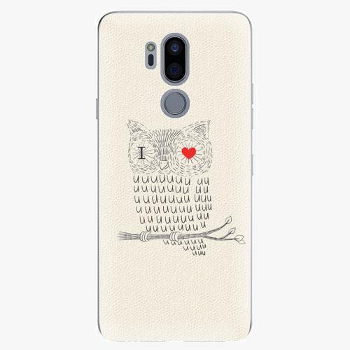Plastový kryt iSaprio - I Love You 01 - LG G7