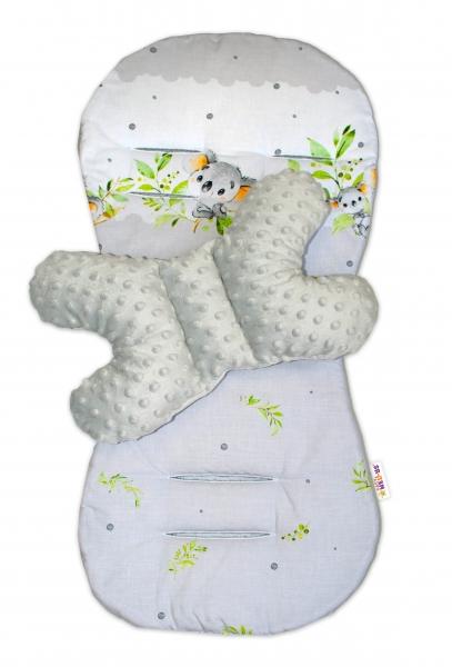 sada-do-kocarku-baby-nellys-minky-podlozka-polstarek-medvidek-koala-seda