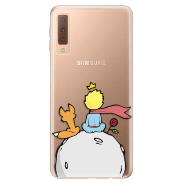 Odolné silikonové pouzdro iSaprio - Prince - Samsung Galaxy A7 (2018)