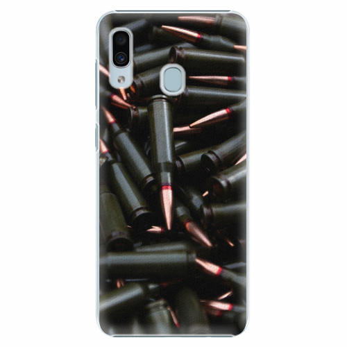 Plastový kryt iSaprio - Black Bullet - Samsung Galaxy A30