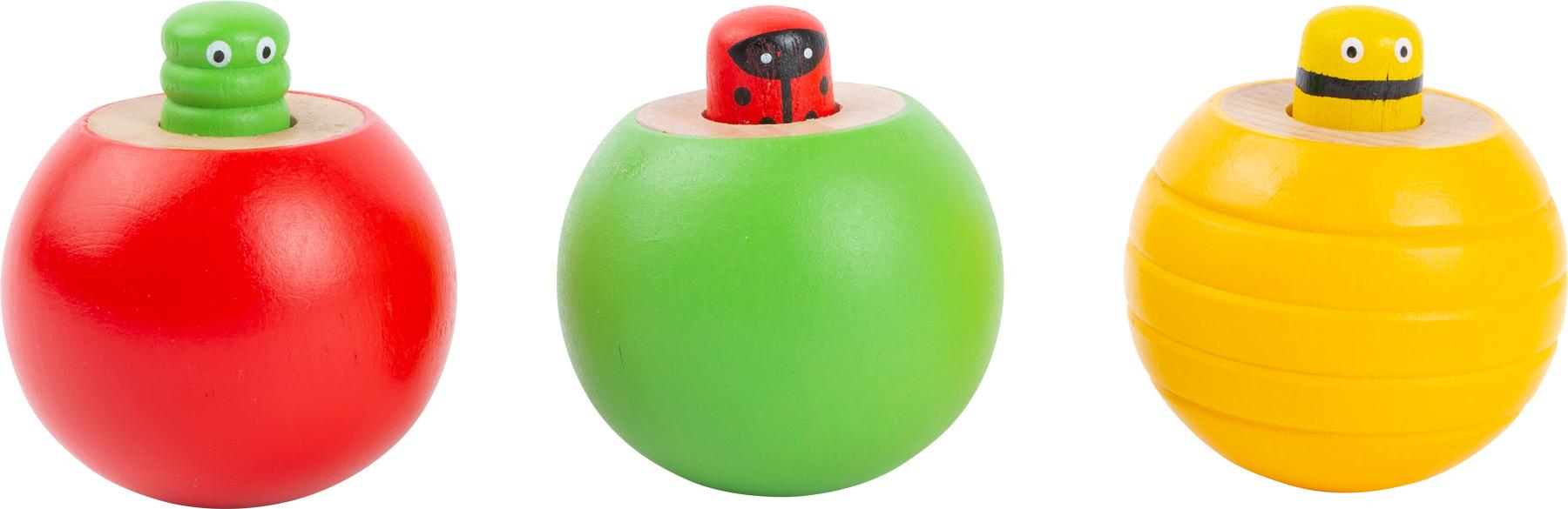 Small Foot Hmyzí káča se zvukem 1 ks zelená