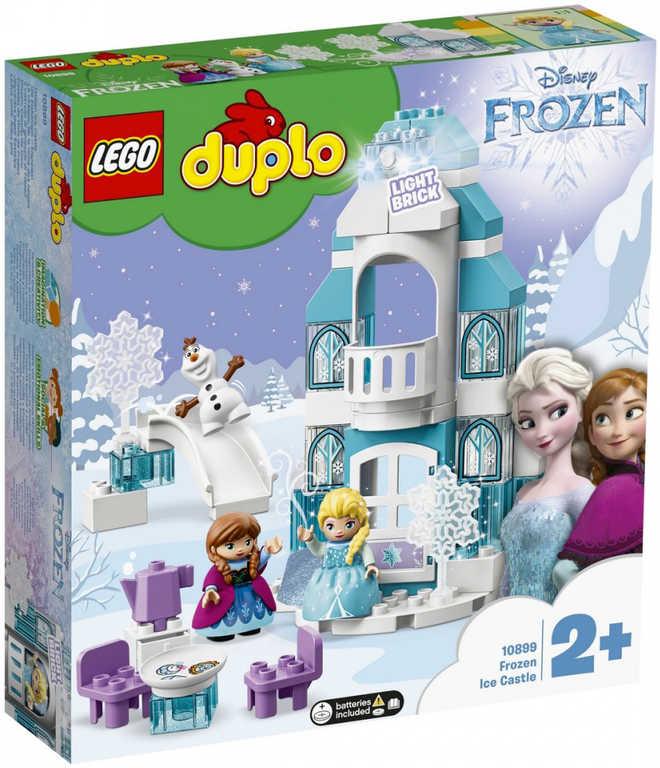 LEGO DUPLO Zámek z Ledového království na baterie Zvuk 10899 STAVEBNICE
