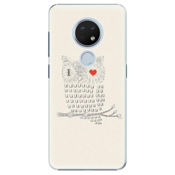 Plastové pouzdro iSaprio - I Love You 01 - Nokia 6.2